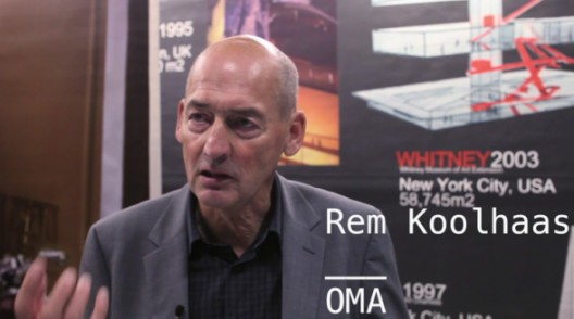 Video: OMA/Progress Exhibition