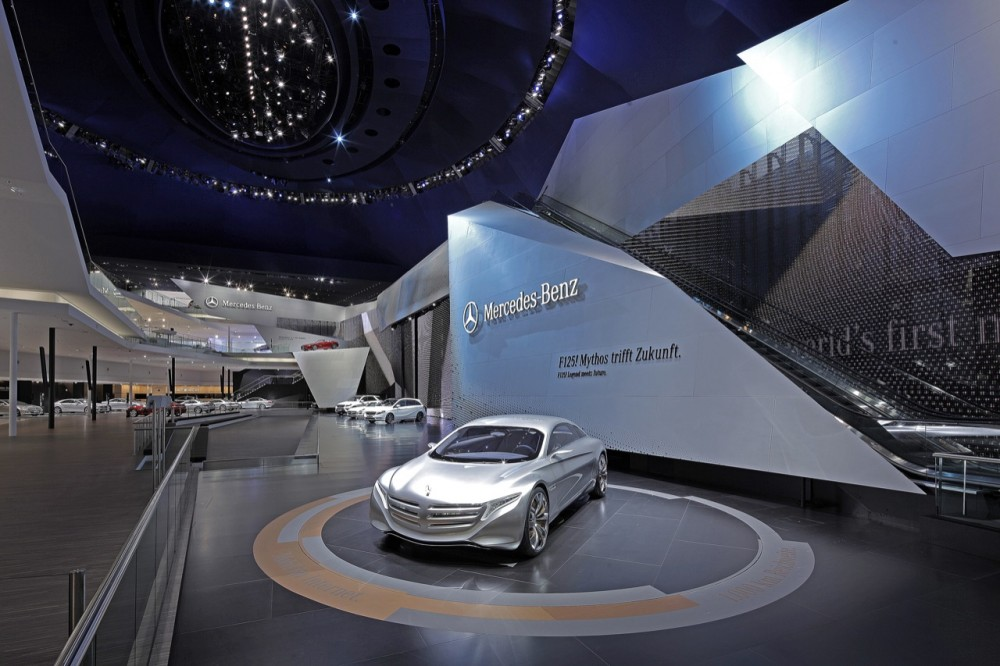 Mercedes-Benz at the Frankfurt Festival Hall / Kauffmann Theilig &#038; Partner