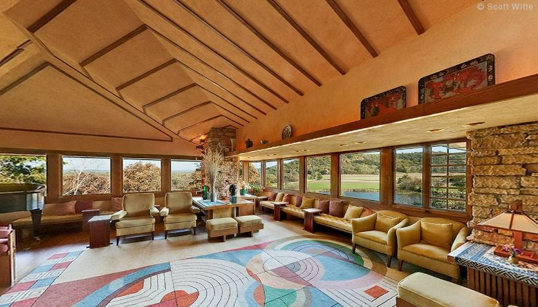 Taliesin – A Guided 360 Virtual Tour