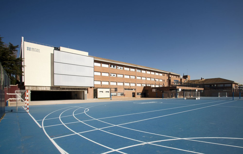 Architecture Photography: British Council School in Madrid / Broadway ...: www.archdaily.com/175632/british-council-school-in-madrid-broadway...