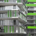 Villiot-Rapée Apartments / HAMONIC + MASSON (2) © Delangle