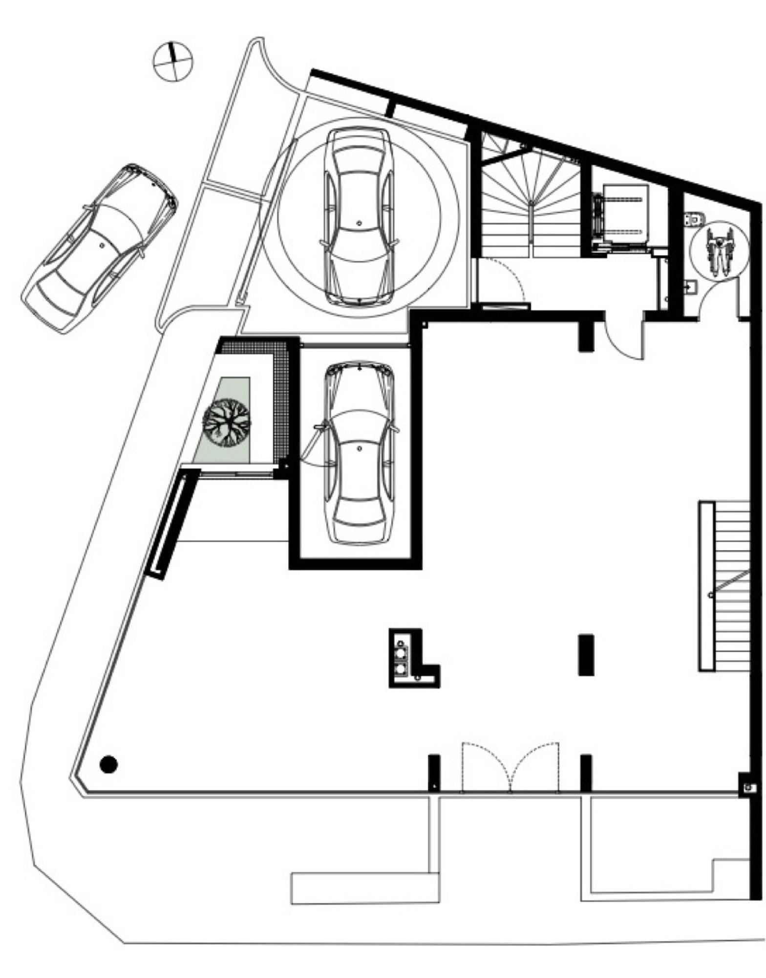 Architecture photography ground floor plan 176790 for Urban loft floor plan