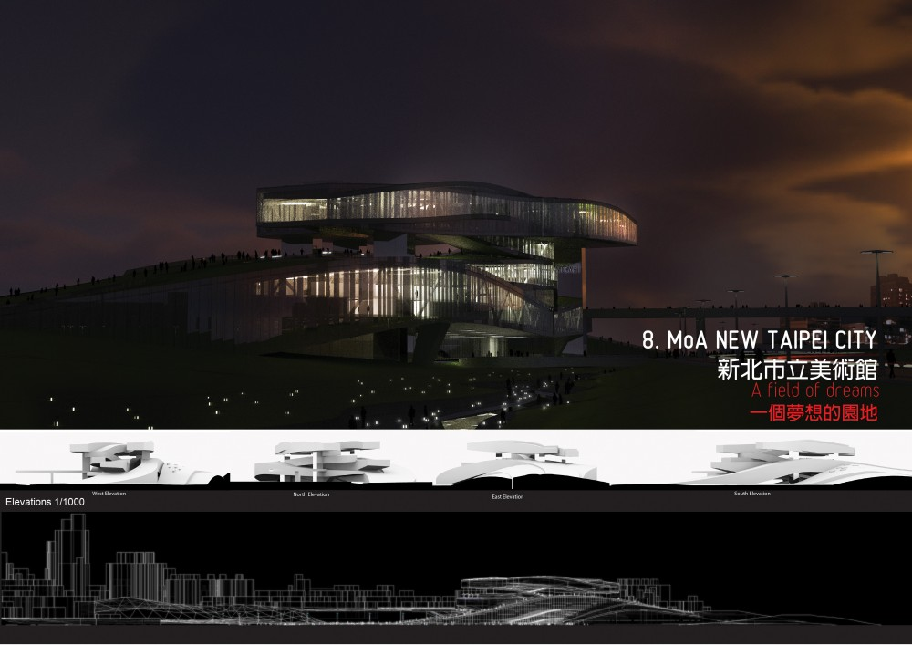 New Taipei City Museum of Art Competition Winners