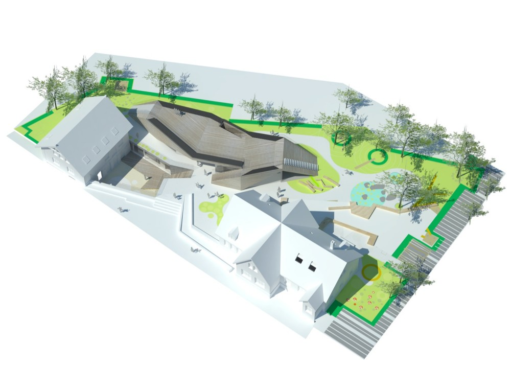 Marthagården Day Care Centre competition winner / Dorte Mandrup Arkitekter + LETH & GORI
