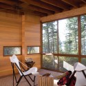 Cabin on Flathead Lake / Andersson Wise Architects (10) © Art Gray