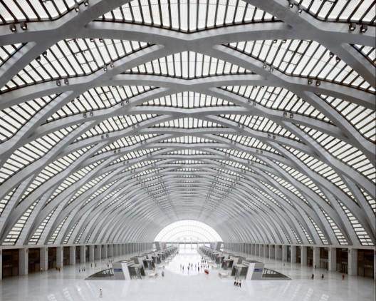 Tianjin west railway station gmp architekten archdaily - Gmp architektur ...