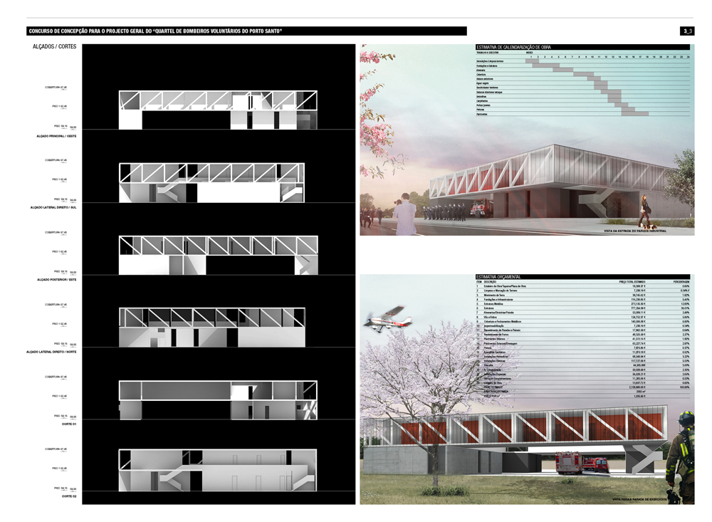 Fire Station Competition Proposal / Luís Banazol