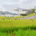 New Taipei City Museum of Art Proposal (2) Courtesy of Jean-loup BALDACCI &amp; Atelier BORONSKI
