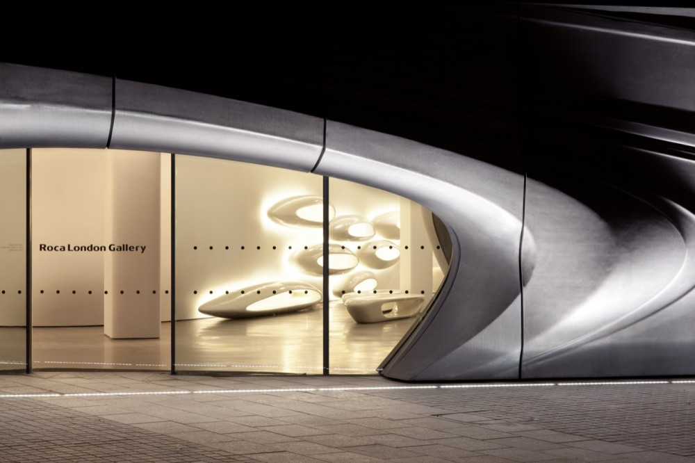 ROCA London Gallery / Zaha Hadid Architects