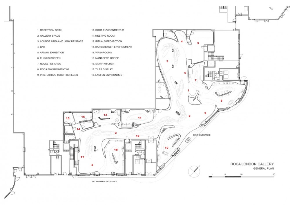 gallery architecture plan - photo #11
