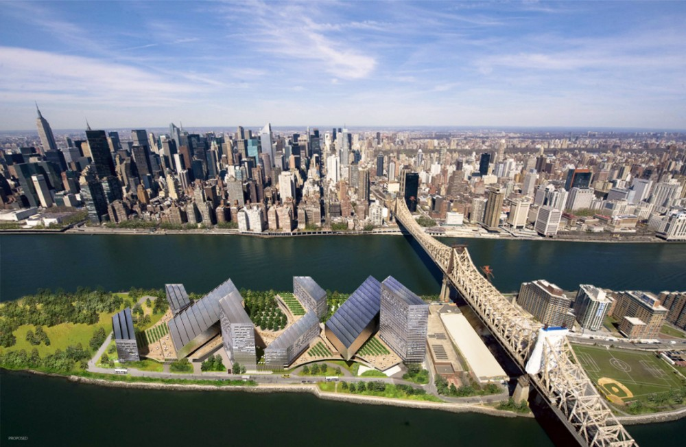 "Cornell's NYC Tech Campus drives towards ""Net-Zero Energy"" / SOM"