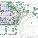 Highlands Park Family Aquatic Center / Meyers + Associates Architecture (21) Site Plan