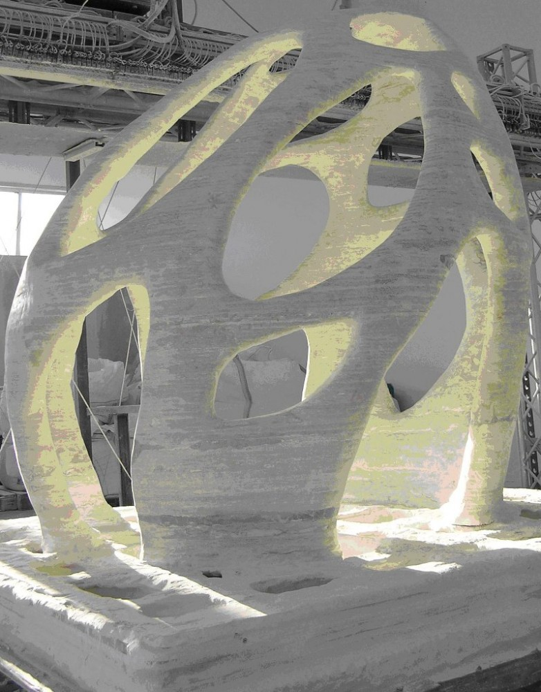Manifestations : The Immediate Future of 3D Printing Buildings and Materials Science