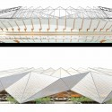 Grand Stade de Casablanca (8) section and elevation