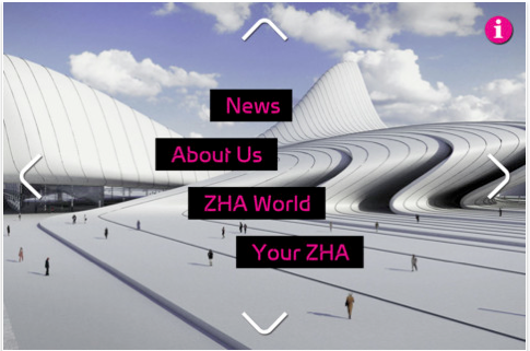Zaha Hadid Architects Launch iPhone & iPad App