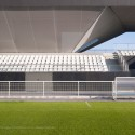 Stadium du Littoral / OLGGA Architects (31) © Julien Lanoo