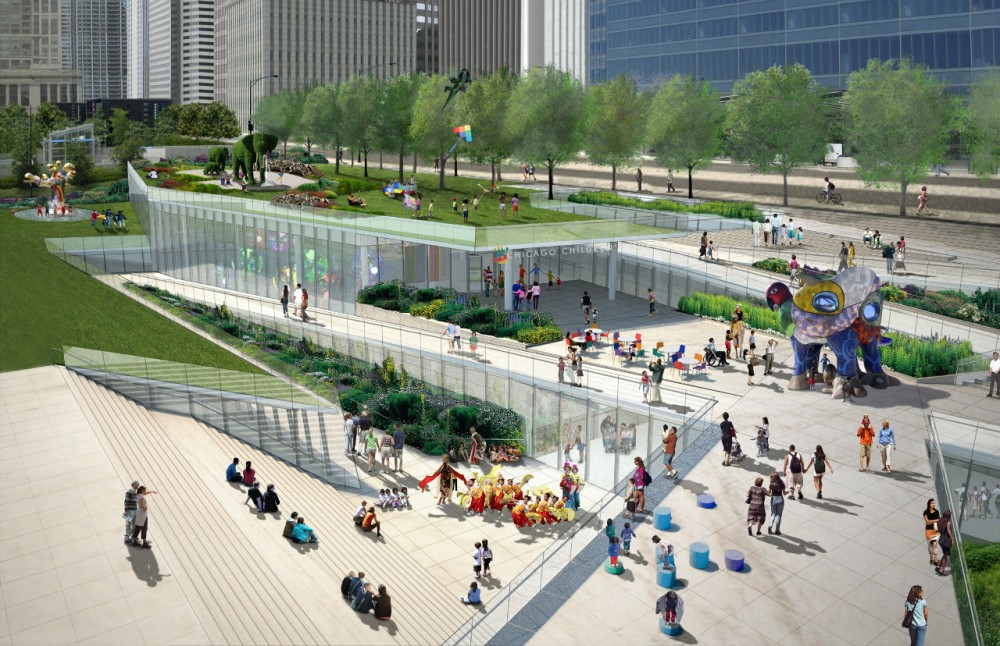 Chicago Childrens Museum Out of New Plan for Grant Park