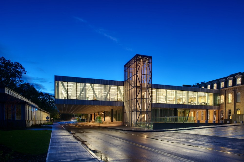 Milstein Hall at Cornell University / OMA