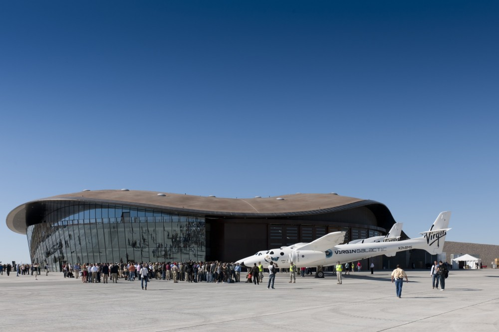 Update: Spaceport America / Foster + Partners