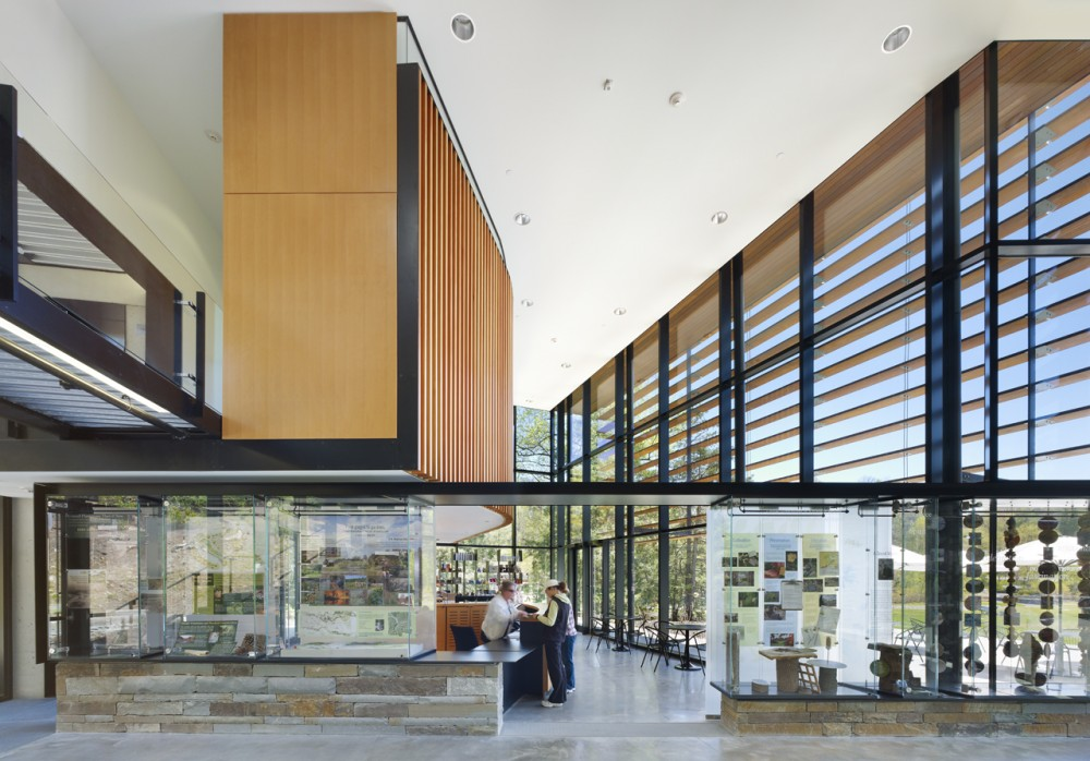 Cornell Plantations Welcome Center / Baird Sampson Neuert Architects