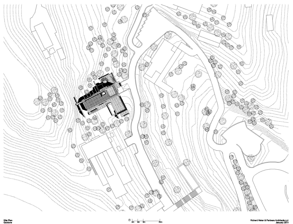 getty villa map with Rmp Gardone Residence Site Plan 006 on 4613819760 additionally Best Beaches Italy furthermore 455614492 likewise The Getty Center Turns 15 besides Floor Plans Of Homes From Famous Tv Shows.