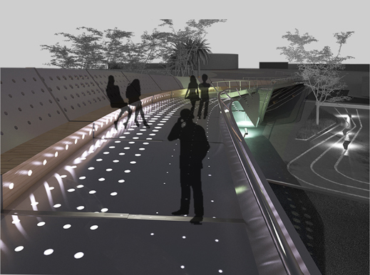 Footbridge in Cyprus Proposal / Elina Pattichi