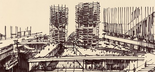 Courtesy of Archive of Bertrand Goldberg via The Art Institute of Chicago