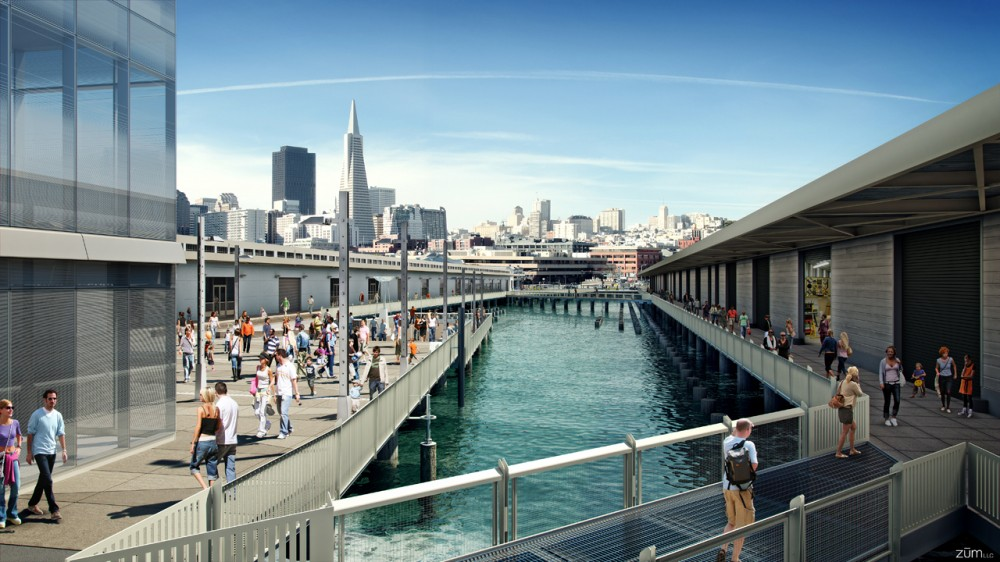 Exploratorium Relocation to Piers 15 & 17 / GLS Landscape | Architecture with EHDD