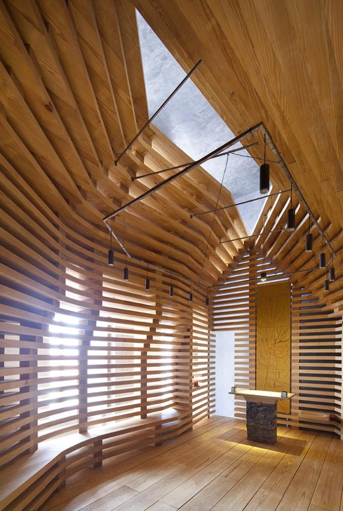 Chapel Tree of Life / Cerejeira Fontes Arquitectos
