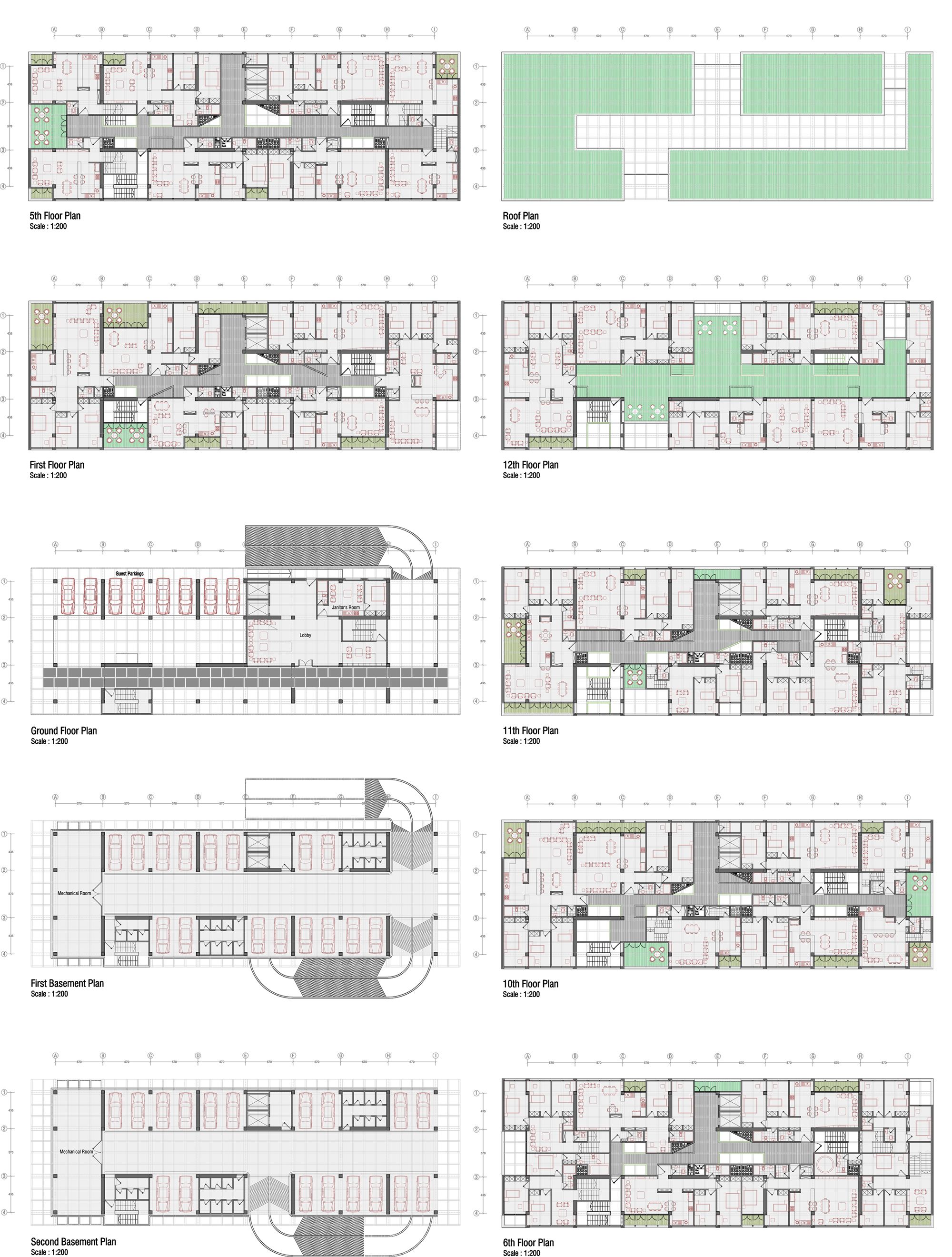 Architecture photography mehrshahr residential complex for Residential building design plans