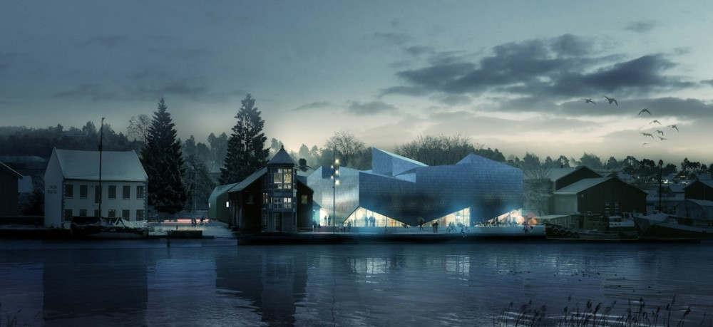 Maritime Museum and Science Center / COBE & TRANSFORM