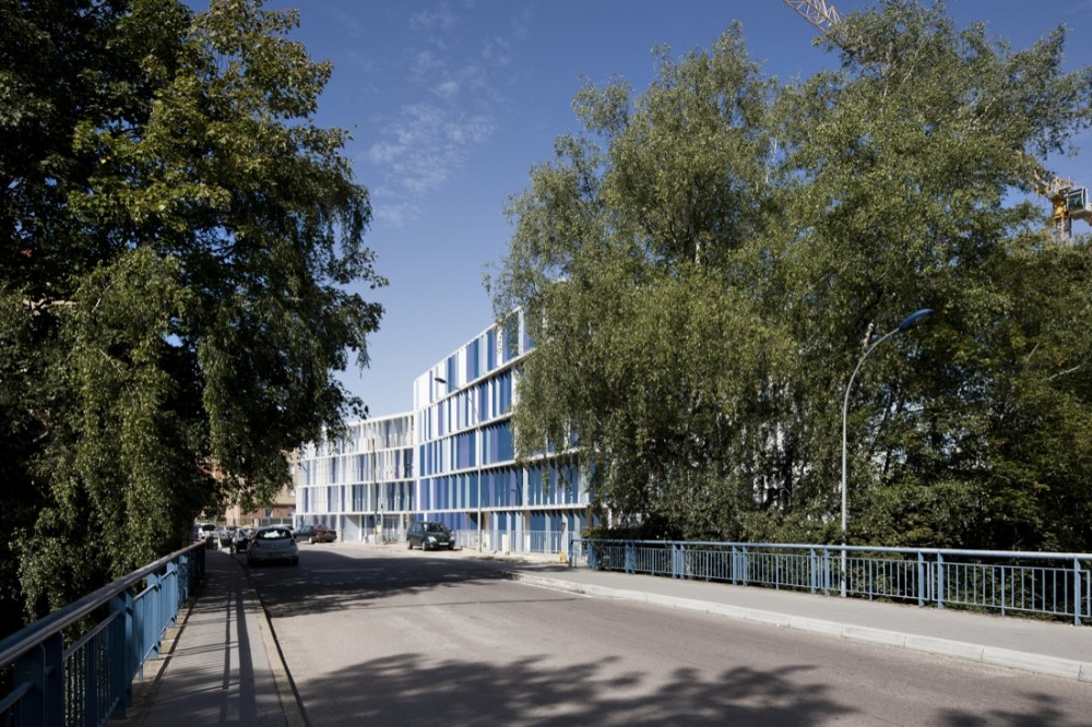 CHL Social Housing / O-S Architectes