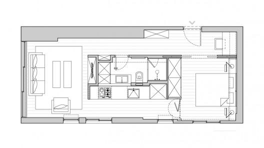 Digitized Life: SFARO 的小坪數住宅設計
