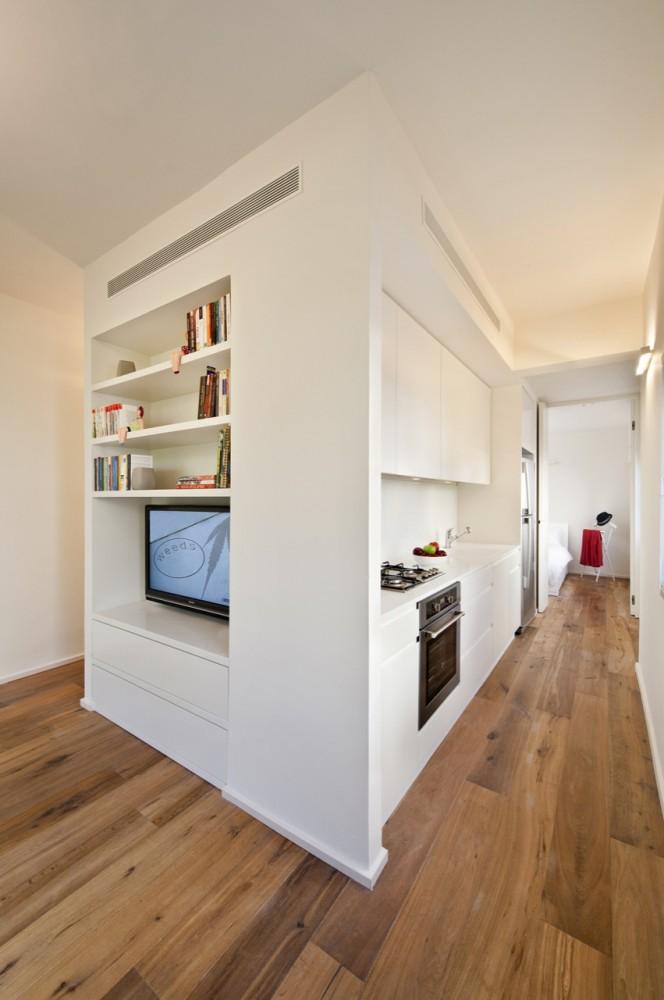 40 Sqm Apartments / SFARO (2) © Boaz Lavi & Jonathan Blum