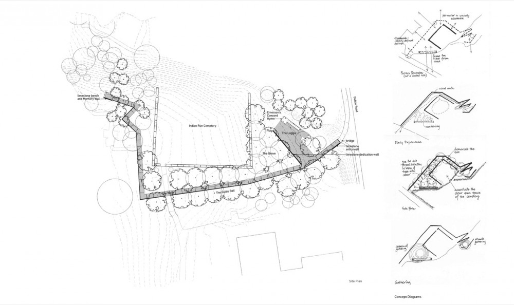 Dublin Grounds of Remembrance / PLANT Architect