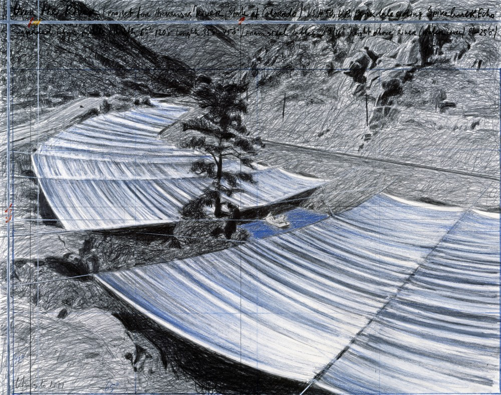 "Christo and Jeanne-Claude ""Over the River"" Project – Approved to Stretch Across Arkansas River"