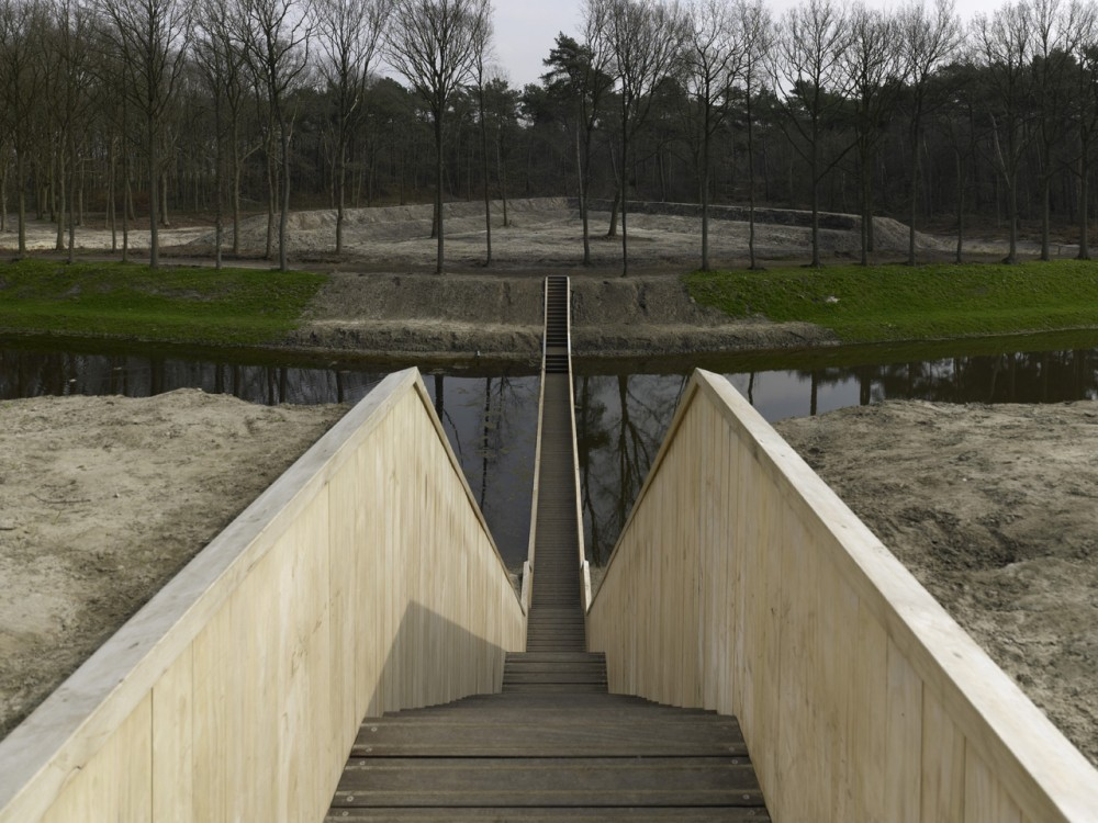 Moses Bridge / RO&#038;AD Architecten
