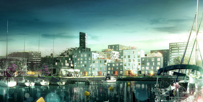 Adept and Luplau & Poulsen Chosen as Winners for Residential Project at Aarhus Harbour