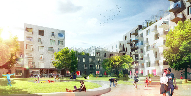 Adept and Luplau &#038; Poulsen Chosen as Winners for Residential Project at Aarhus Harbour