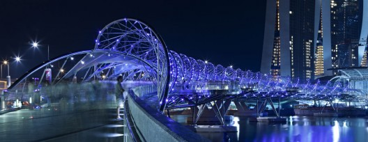 Helix Bridge / Cox Architecture with Architects 61 © Christopher Frederick Jones