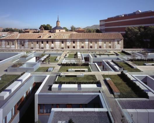 New parador of alcal aranguren gallegos architects - Arquitectos alcala de henares ...
