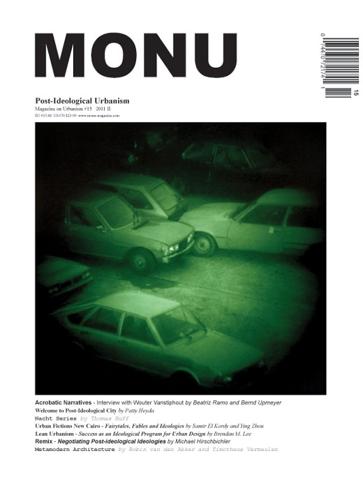 MONU Magazine New Issue: Post-Ideological Urbanism