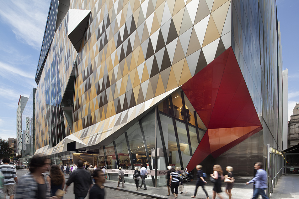 Myer Bourke Street Redevelopment / NH Architecture