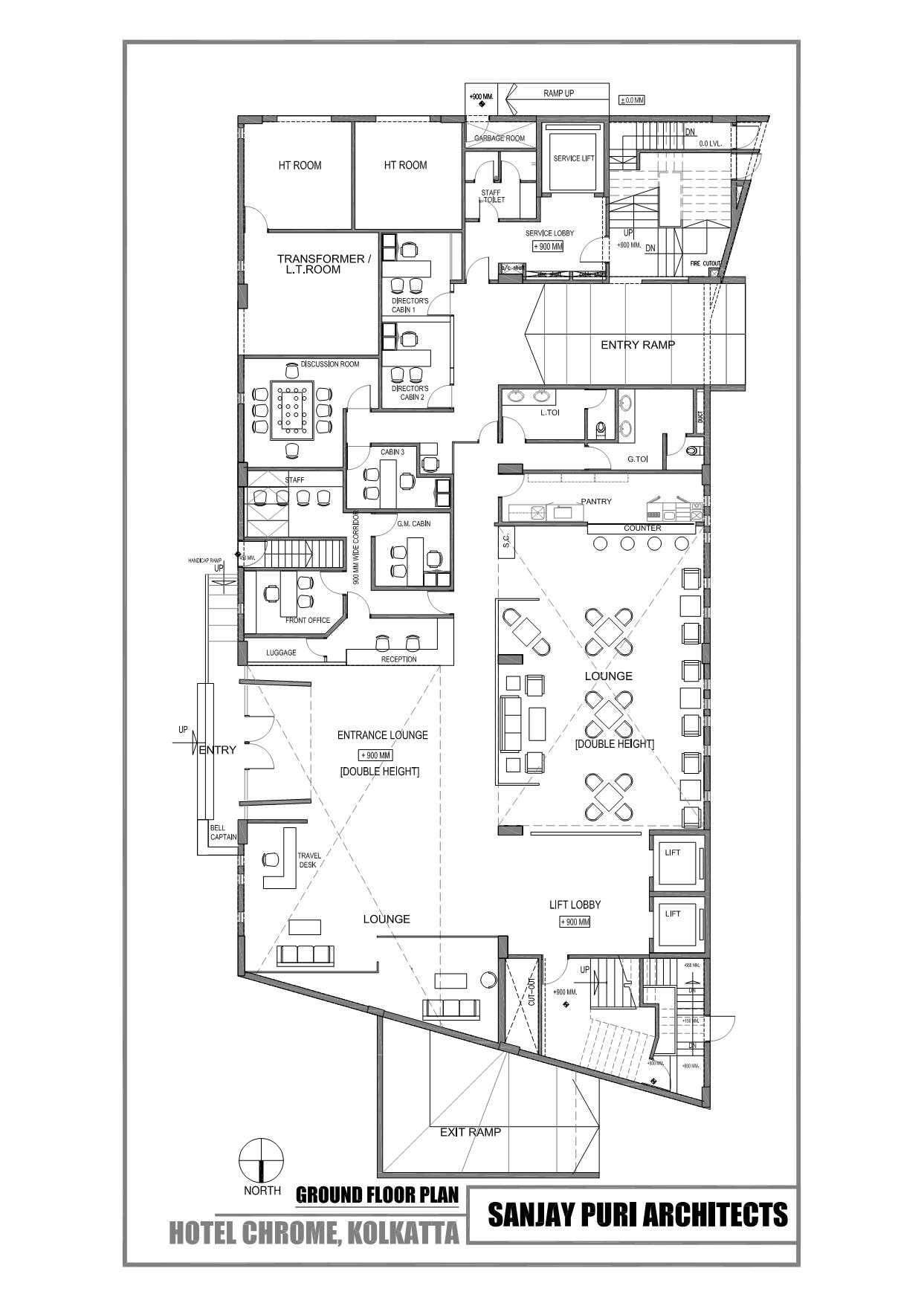 Hotel Ground Floor Plan images