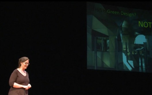 Screenshot from TEDx