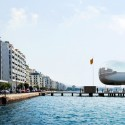 Thessaloniki Water Transport Piers Proposal (2) From the city Harbor towards the Pier
