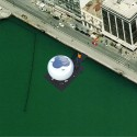 Thessaloniki Water Transport Piers Proposal (8) Bird's Eye view of the Pier from Google Earth