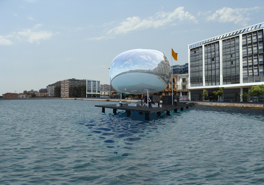 Thessaloniki Water Transport Piers Proposal / Giannikis SHOP