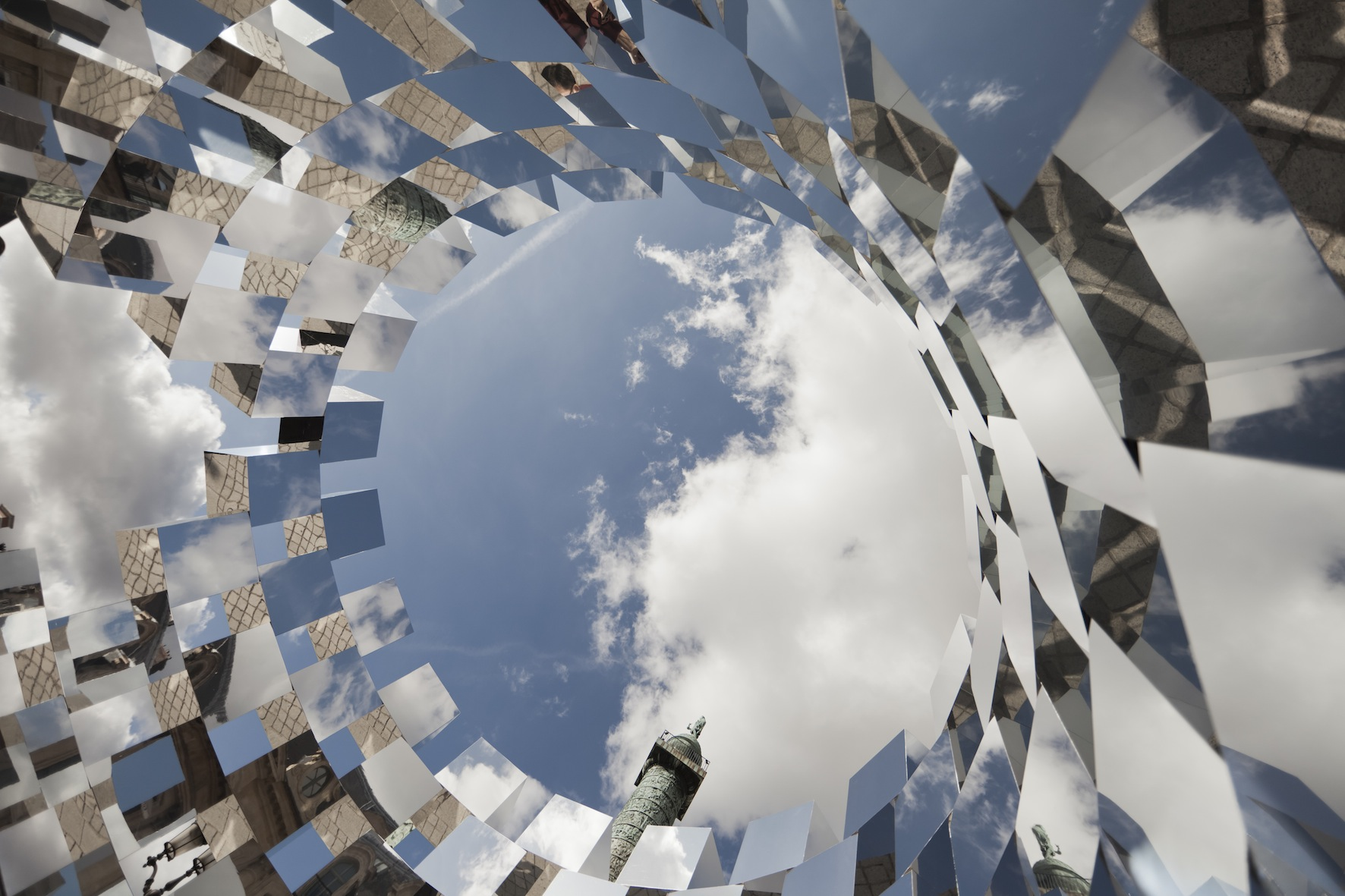 Ring installation arnaud lapierre archdaily for Mirror installation