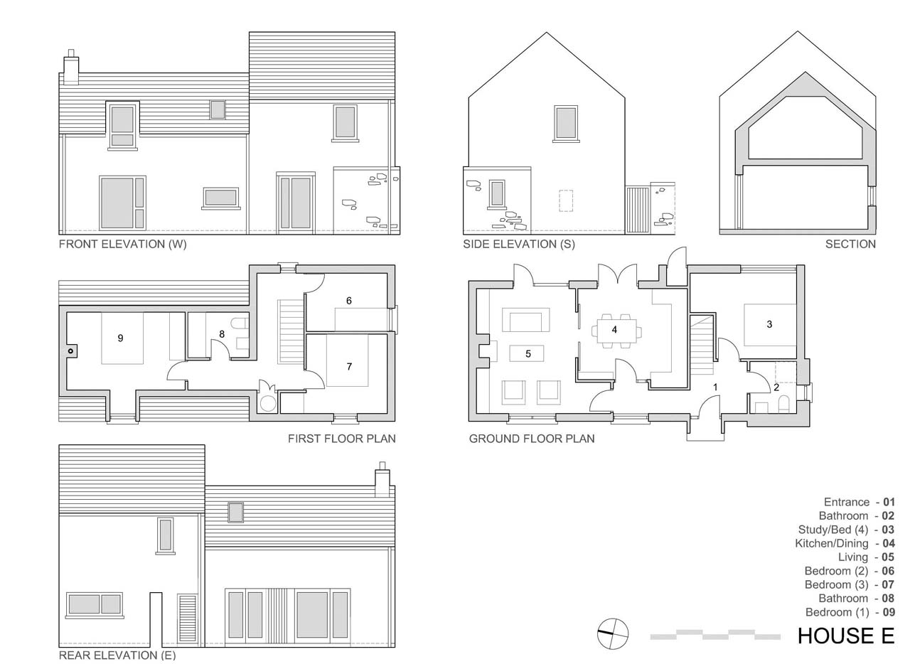 Architecture Photography House E Plan 187249